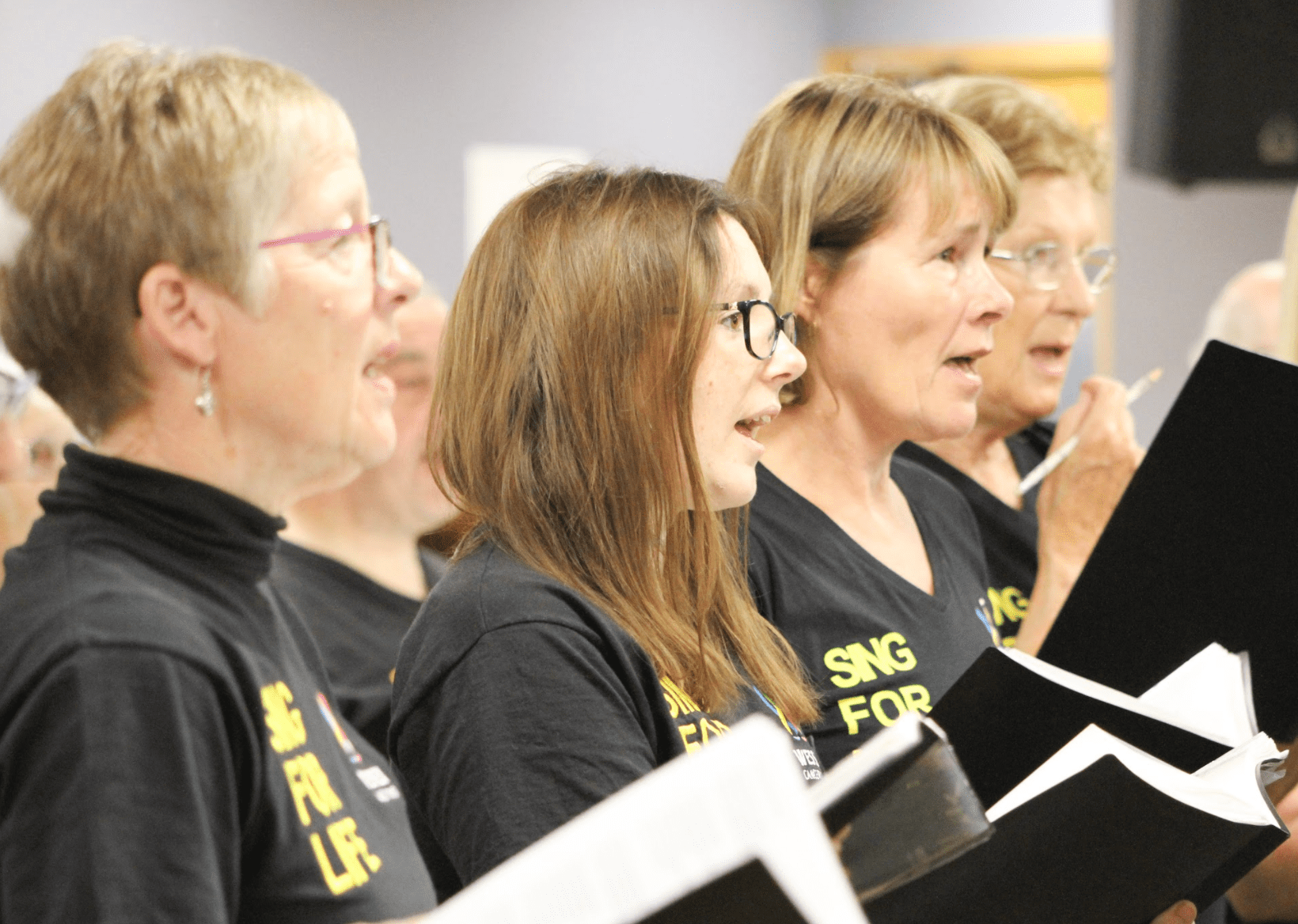 Sing for life Choir