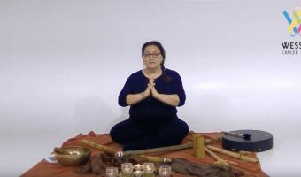 Sonja Meditating