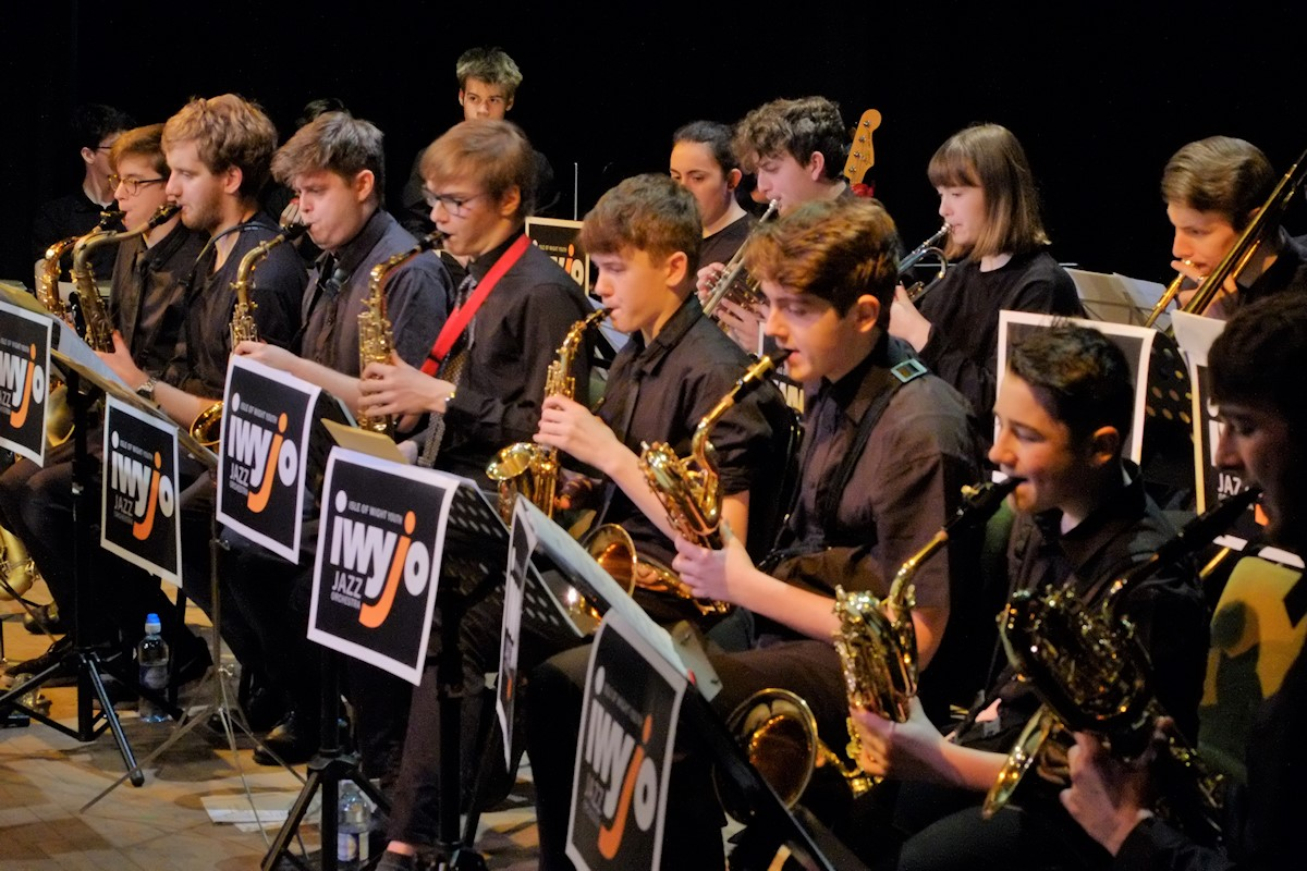 Isle of Wight youth jazz orchestra